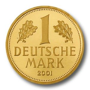 1 Deutsche Gold Mark