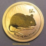 Australien-2008-Lunar-II-Year-of-the-Mouse-1-OZ-9999-Gold