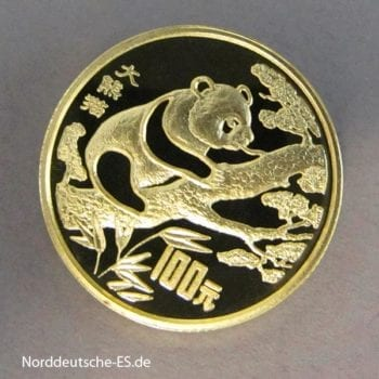 China-Panda-100-Yuan-1994-Bedrohte-Tierwelt-Goldmuenze