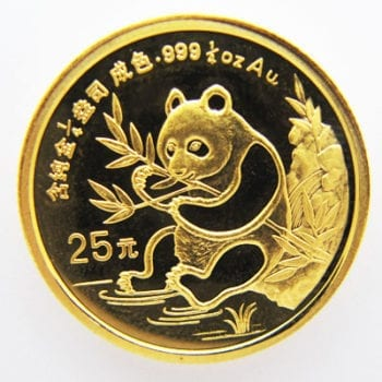China-Panda-25-Yuan-1_4oz-Feingold-1991-goldpanda-bambus